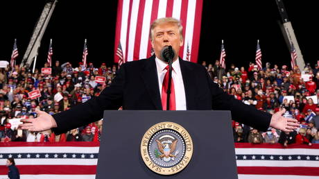 FILE PHOTO: US President Donald Trump, December 5, 2020.