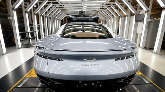 Luxury car marque Aston Martin to start making electric models in UK amid shift away from traditional vehicles – media
