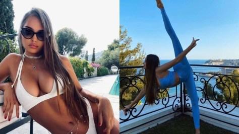 Still got it: Retired Olympic gymnastics champ Sevastyanova wows fans with stretching skills