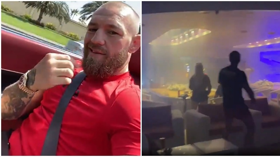 'The number 1 roly around': UFC star McGregor flashes Rolex, Rolls-Royce & yacht party as he winds up former foe Diaz