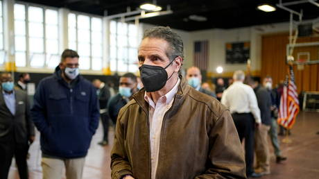 New York Governor Andrew Cuomo (February 22, 2021 file photo)