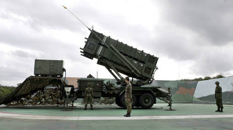 A Patriot Advanced Capability missile launcher in Taiwan. (FILE PHOTO) © Reuters / Richard Chung TW