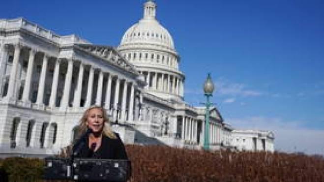 'Biden's MARK OF THE BEAST': Congresswoman Marjorie Taylor Greene fiercely denounces 'vaccine passport' initiative