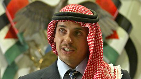 FILE PHOTO. Prince Hamzah in 2004. ©REUTERS / Ali Jarekji