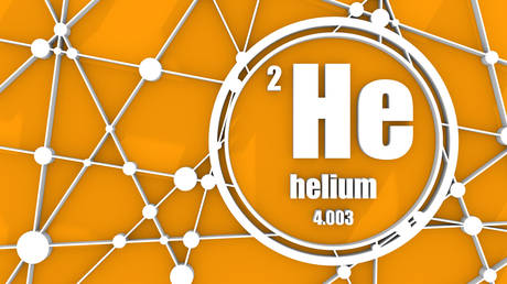 Hellium chemical element. © Getty Images / Evgeny Gromov