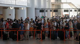 CHAOS at Portugal's Faro Airport as Brits rush to get home ahead of new mandatory quarantine rules (PHOTOS, VIDEOS)