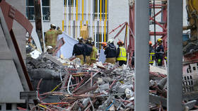 Five dead after unfinished primary school partially collapses in Antwerp, Belgium (VIDEO)