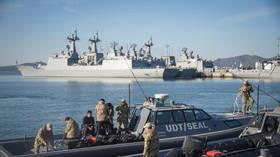 Премьер-министр Южной Кореи приносит извинения за положительный результат теста 250 моряков на эсминце Covid, 12 из которых находятся в критическом состоянии