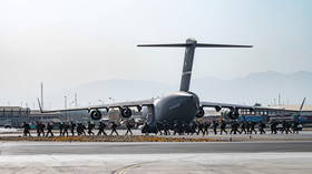 Pentagon activates rarely-used civil aircraft reserve to speed-up evacuation as Taliban blames US for CHAOS at Kabul airport