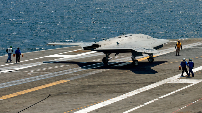Computer Glitch Forces X 47b Navy Drone Onshore After