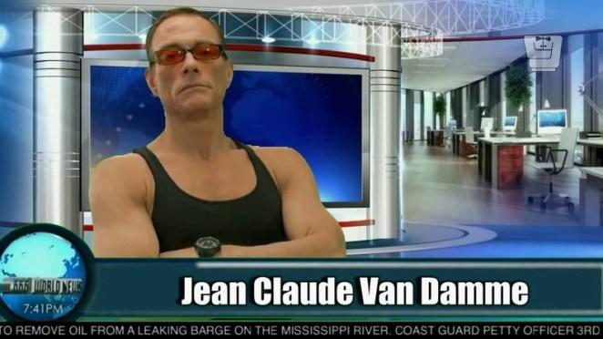 """Algerians are brave and love action,"" said Belgian actor Jean-Claude Van Damme"