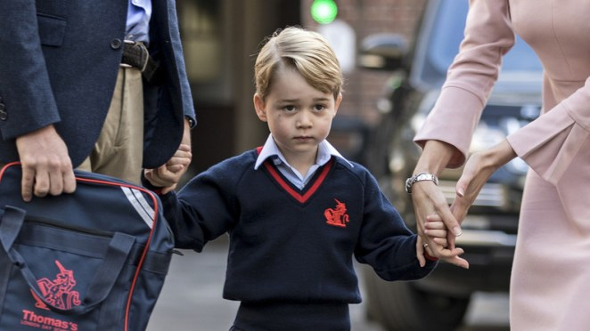 """Pray for Prince George to be gay"": a Scottish priest creates controversy"