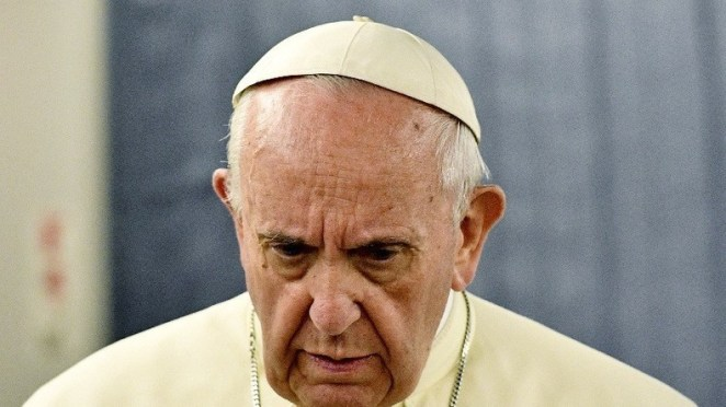 "Pope Francis worries that homosexuality ""affects the life of the Church"""