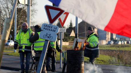 Les frontières françaises, points de blocage privilégié des Gilets jaunes (IMAGES)