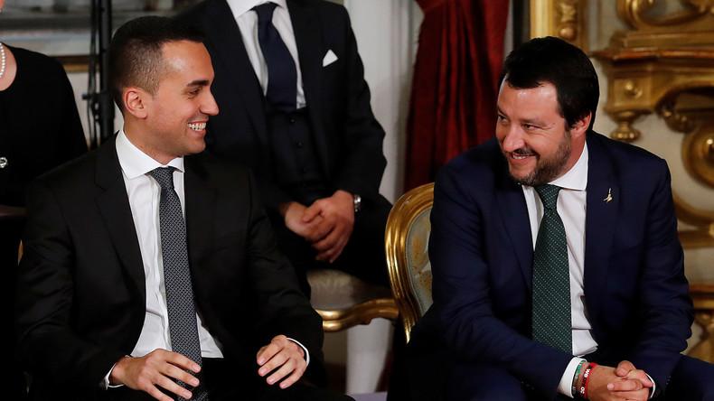 Le gouvernement italien exprime son soutien aux Gilets jaunes français