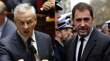 Bruno Le Maire et Christophe Castaner