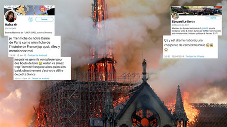 «Délire de petits blancs» : les tweets de deux responsables de l'UNEF sur Notre-Dame font polémique