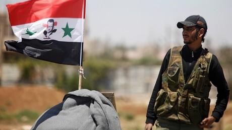 Un soldat de l'armée syrienne à Deraa, le 10 juillet 2018 (image d'illustration).