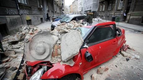 Double peine pour la Croatie, frappée par un séisme destructeur en pleine pandémie de Covid-19