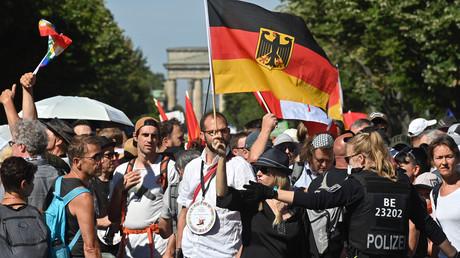 Manifestation à Berlin : le gouvernement allemand condamne une «atteinte à la dignité humaine»