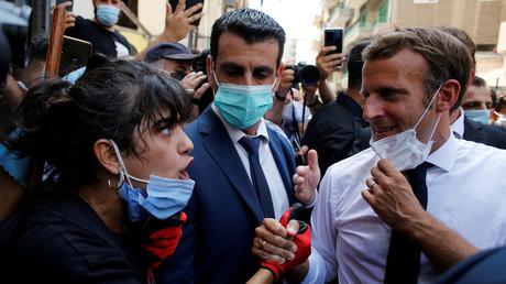 Emmanuel Macron aux habitants de Beyrouth : «Il faut aussi qu'on change le système politique»