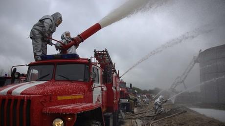 Une dizaine de blessés dans l'explosion d'une station service à Volgograd