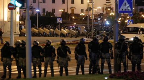 Présidentielle en Biélorussie : la police disperse de nouvelles manifestations