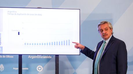 Dette : l'Argentine «pas en état» d'accepter des conditions du FMI, selon son président
