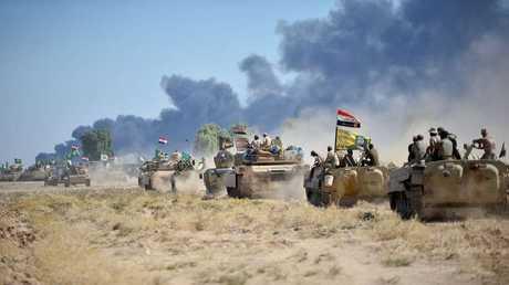قوات الأمن العراقي في محافظة كركوك شمال العراق - أرشيف