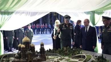 بوتين يتبرع لتمويل رسم الأيقونة الرئيسية لكنيسة الجيش الروسي 18