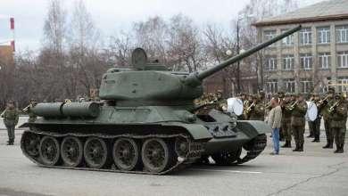 العثور على دبابة سوفيتية العلو الجولان السوري 3