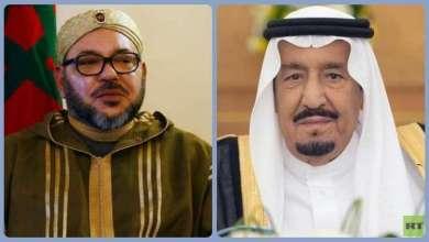 العاهلان السعودي والمغربي يستعرضان الأحداث الدولية والإقليمية 3