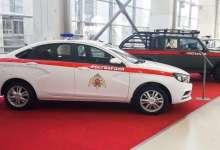 """الحرس الوطني الروسي يتسلم نسخة عسكرية من سيارة """"لادا فيستا"""" 8"""