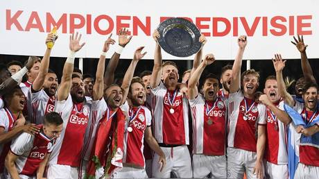 Ajax is the 34th Dutch league champion in history