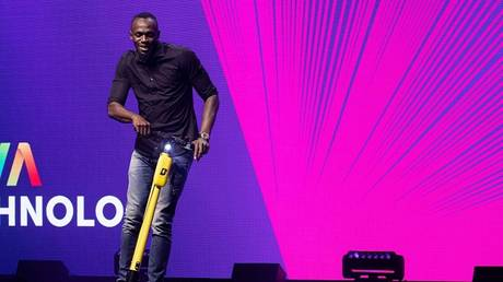 The fastest man in history reveals a new electric scooter