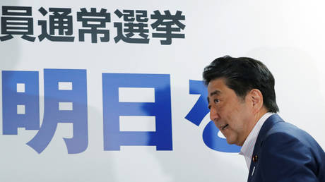 Abe: We will do our utmost to ease tension between Washington and Tehran before joining any naval alliance in the Gulf
