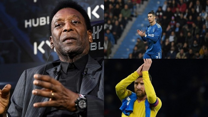 Legend Pele sets out the best between Ronaldo and Messi