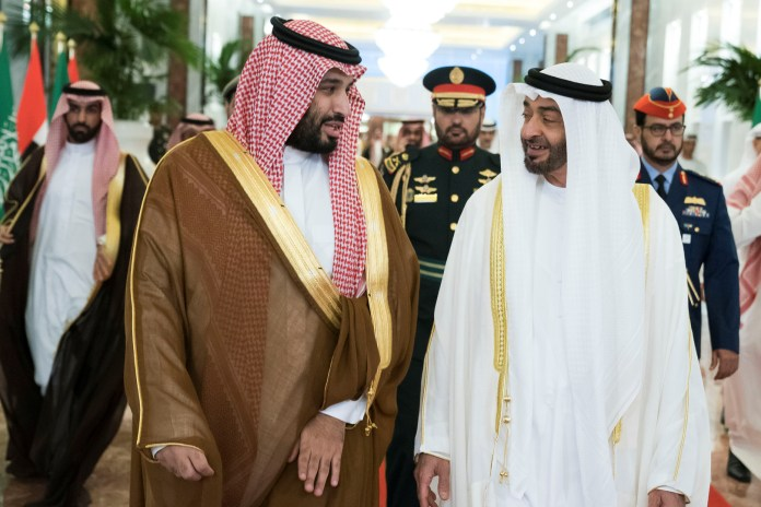 Call for the crowns of Saudi Arabia and Abu Dhabi to act against