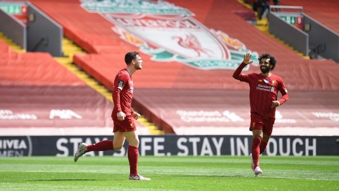 Robertson mocked Mohamed Salah: