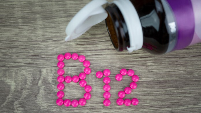 A tick in the ears could mean a lack of vital vitamin B12