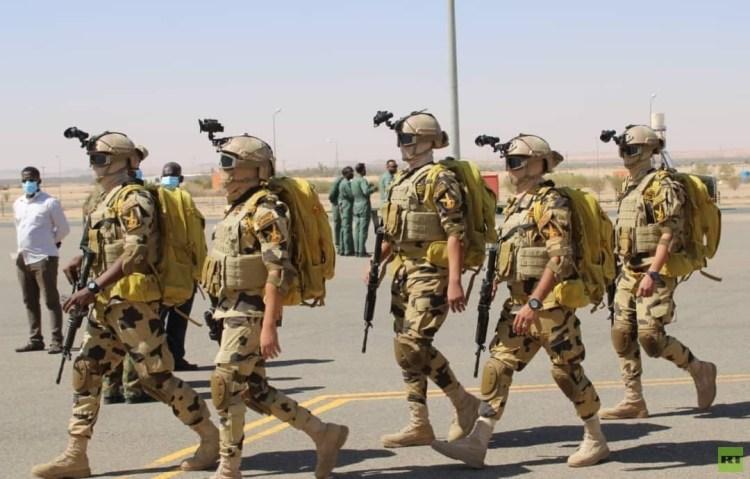 مناورات جوية بين السودان ومصر وتدريبات مرتقبة بين البلدين (صور)