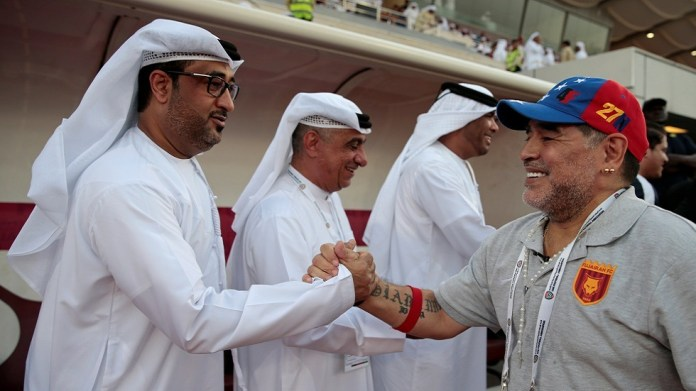 Maradona's translator reveals the last message from the legend to the Emiratis