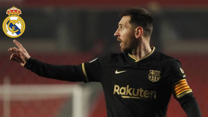 The key to realizing Real Madrid's dream is in Messi's hands