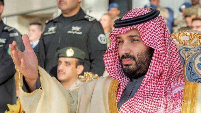 Turki Al-Sheikh supports the Saudi crown prince in his own way