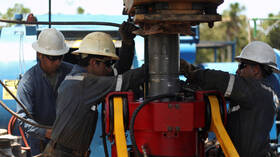 Sharp fall in oil prices