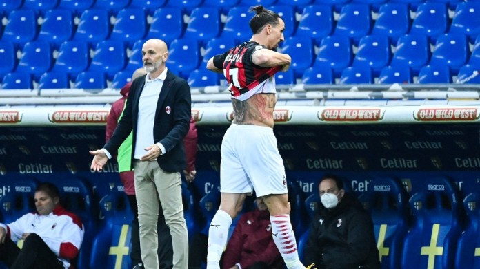 On the night of Ibrahimovic sent off ... Milan beat Parma with three (video)