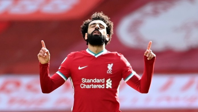 Watch .. Salah's two goals are in the net