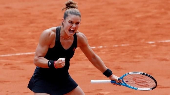 Roland Garros.. Sakkari strips Shvontik of the title