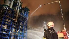 مقتل 14 شخصا جراء حريق في مستودع بالصين