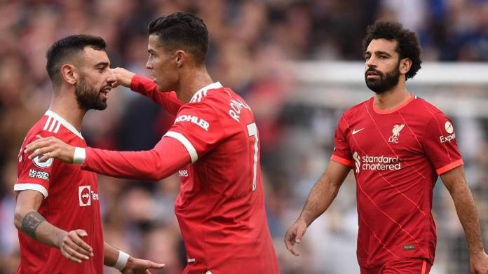 List of the best scorers in the English Premier League after Salah's goal and Ronaldo's double